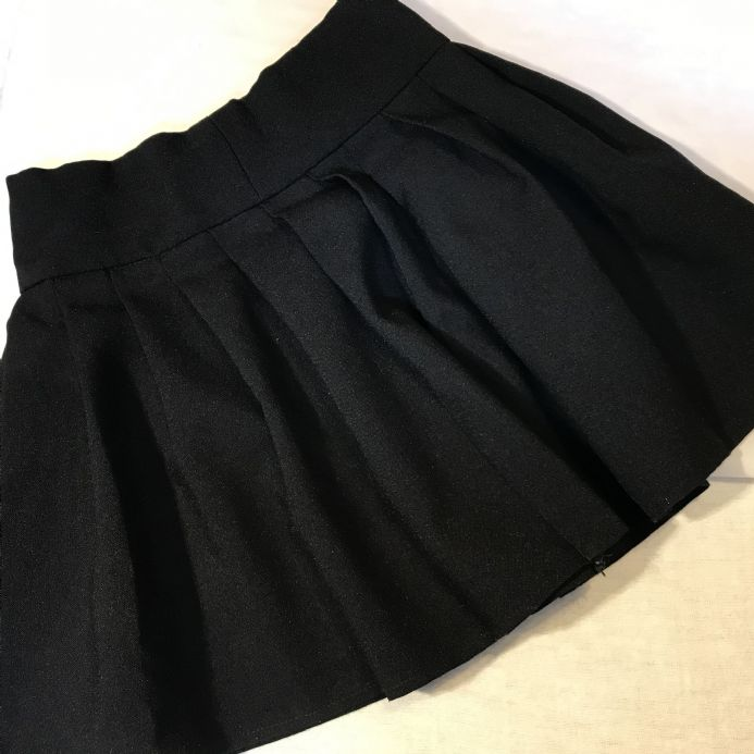 5-6 Year Black School Skirt 2